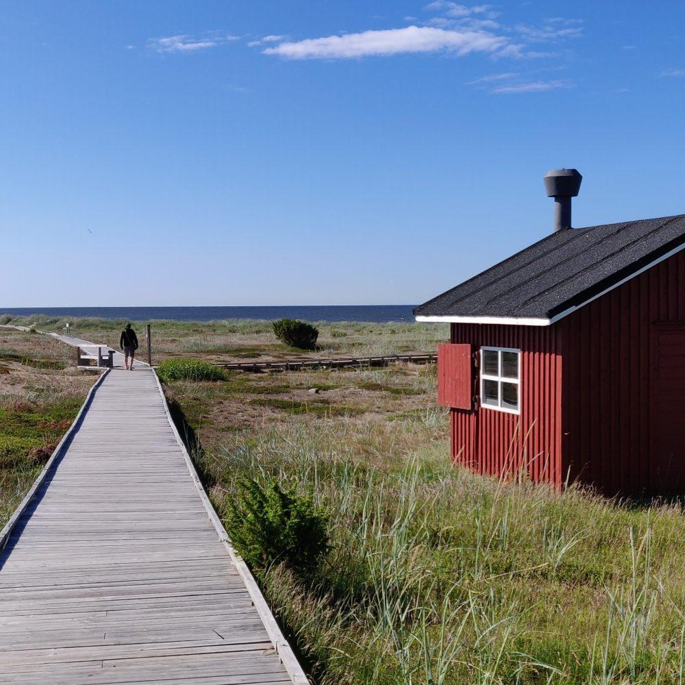 Leppoisa Hailuoto ja kaunis Marjaniemen ranta
